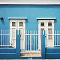 Blue Curacao House by Zena Zero