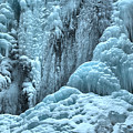 Blue Ice Flows At Tangle Falls by Adam Jewell