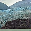 Blue Ice In Fog by Maria Keady