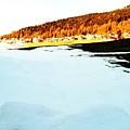 Blue Ice by Nila  Poduschco