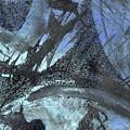 Blue Ice Pond 1  by Elizabetha Fox