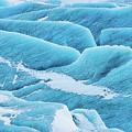 Blue Ice Svinafellsjokull Glacier Iceland by Matthias Hauser