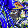 Blue Indian by Dave Thompsen