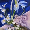 Blue Iris by Gloria Condon