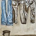 Blue Jeans. by Shlomo Zangilevitch