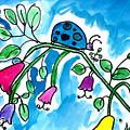 Blue Ladybug by Jackie Wicks Age Eleven