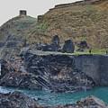 Blue Lagoon 2 Abereiddy Wales by Karen Desrosiers