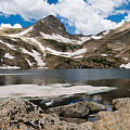Blue Lake Colorado by Robert VanDerWal