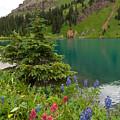 Blue Lakes Summer Portrait by Cascade Colors