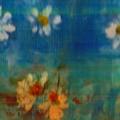 Blue Landscape In Oil by Pepita Selles