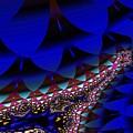 Blue Leaf by Ron Bissett