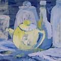 Blue Lights by Geraldine Liquidano