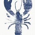Blue Lobster- Art By Linda Woods by Linda Woods