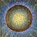 Blue Mandala by Agnieszka Adamska
