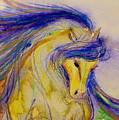 Blue Mane And Tail by Jennifer Fosgate
