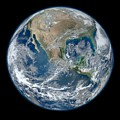Blue Marble 2012 Planet Earth by Nikki Marie Smith