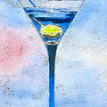 Blue Martini by Arline Wagner