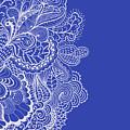 Blue Mehndi by Susan Link