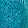 Blue Metal Spca by David Lee Thompson
