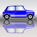 Blue Mini Car by Bigalbaloo Stock