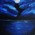 Blue Moon 2 by Mary DeLawder