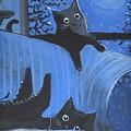 Blue Moon Halloween by Sylvia Pimental