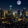 Blue Moon Over L.a. by Garland Johnson