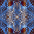 Blue Mosi-oa-tunya 1 by Devalyn Marshall