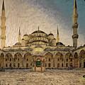Blue Mosque At Sunrise by Syed Muhammad Munir ul Haq