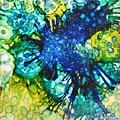 Blue Moth by Tammy Finnegan