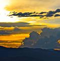 Blue Mountain Sunset by Karon Melillo DeVega