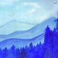 Blue Mountains by Olga Mamaenko