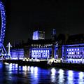 Blue Night In London by John Rizzuto