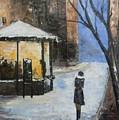 Blue Night by Maria Karalyos