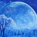 Blue Night Moon by Ashleigh Dyan Bayer
