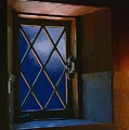 Blue Night Through Casement by RC DeWinter