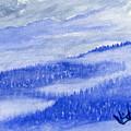 Blue Noon In Western Montana by Victor Vosen