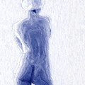 Blue Nude by Joe Bonita