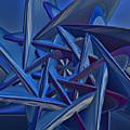 Blue On Blue by Deborah Benoit