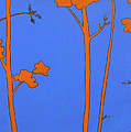 Blue Orange Tree by Anne Marie Brown