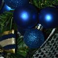 Blue Ornament by Tammy Stoner