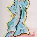 Blue by Oudi Arroni