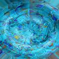 Blue Oval by Nareeta Martin