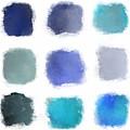 Blue Palette, No.1 by Elegant and Coastal