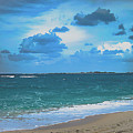 Blue Paradise, Scenic Ocean View From The Bahamas by Rick Grossman