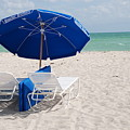 Blue Paradise Umbrella by Rob Hans