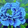 Blue Peony Jenny Lee Discount by Jenny Lee