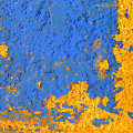 Blue Plaster 3 By Darian Day by Mexicolors Art Photography
