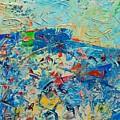 Blue Play 4 by Ana Maria Edulescu
