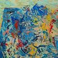 Blue Play 5 by Ana Maria Edulescu